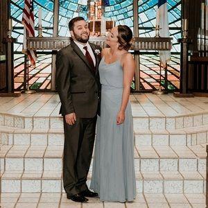 Morilee Bridesmaids Dress #21536, Slate, Size 6